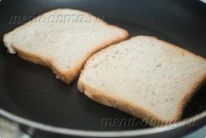 Хлеб на сковороде