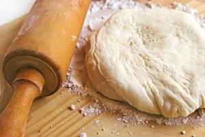 Быстрое дрожжевое тесто для жареных пирожков