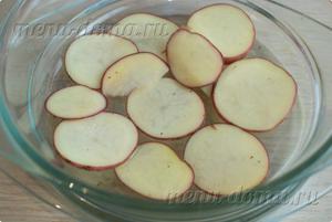 Картофель в посуде для микроволновки