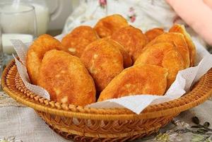 Пирожки с капустной начинкой