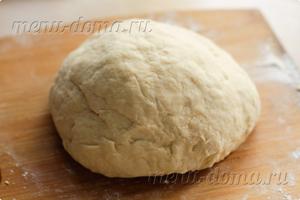 Готовое тесто для пирожков на кефире