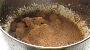 Добавление ягоды и какао