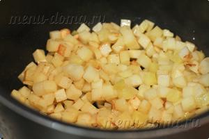Обжреннная картошка