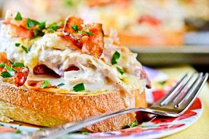 Фото бутербродов с колбасой из духовки