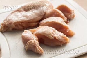 Кусочки курицы