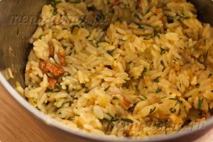 Перемешанный рис для котлет