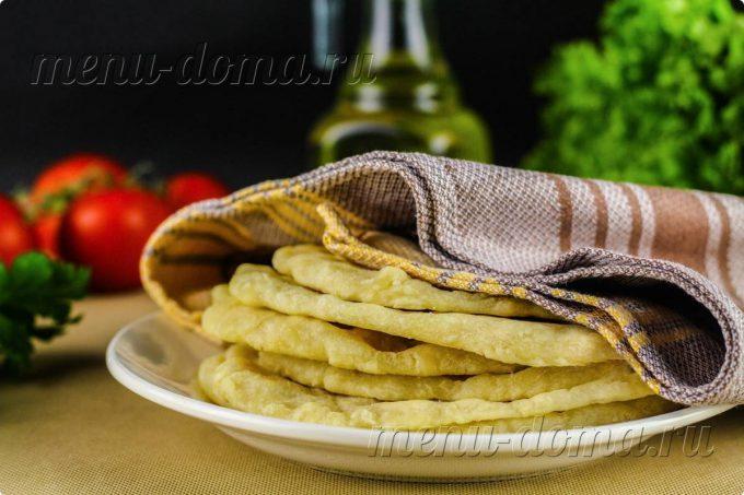 Лепешки с паприкой и куркумой, пошаговый рецепт с фото