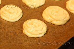 Профитроли с сырным кремом , пошаговый рецепт с фото
