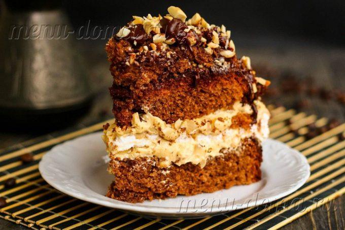 Венесуэльский торт с орехами и вареной сгущенкой, рецепт с фото ... | 453x680