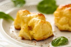 Запеченная капуста в кефирном кляре с горчицей
